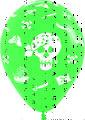 Шар (12''/30 см) Пираты, Ассорти, пастель, 5 ст, 50 шт.