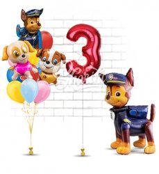 """Готовое решение """"С днем рождения,щенячий патруль"""""""