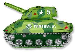 "Шар-фигура ""Зеленый танк"""