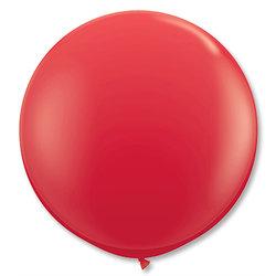 Большой шар 90 см, Красный