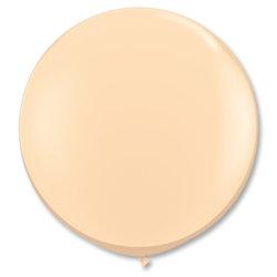 Большой шар 90 см, Кремовый