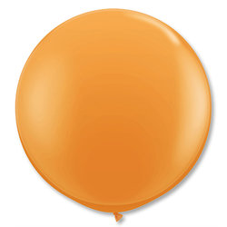Большой шар 90 см, Оранжевые