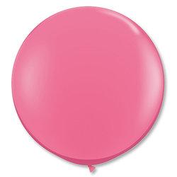 Большой шар 90 см, Розовые
