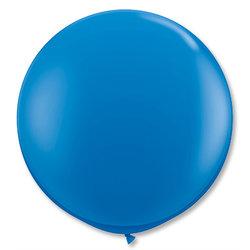 Большой шар 90 см, Темно-синий