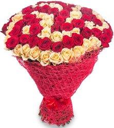 """Букет из цветов """"Любовь"""""""