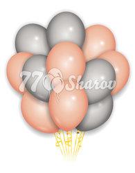 """Облако из шаров """"Персиковый день"""", 36 см"""