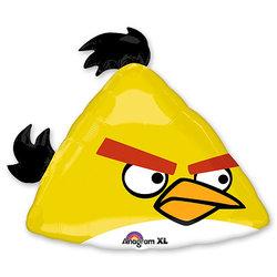 "Шар-фигура ""Angry Birds Желтая Птица"" 58 см"