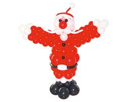 """Фигура из шаров """"Дед Мороз во весь рост"""""""