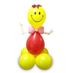 """Фигура из шаров """"Клоун с бантиком"""""""