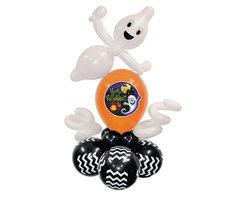 """Фигура из шаров """"Призрак Happy Halloween"""""""