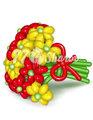 """Цветы из шаров """"Букет 11"""""""