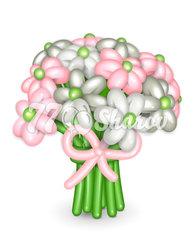 """Цветы из шаров """"Букет 12"""""""