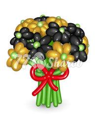 """Цветы из шаров """"Букет 14"""""""