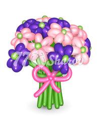 """Цветы из шаров """"Букет 15"""""""