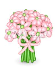 """Цветы из шаров """"Букет 16"""""""