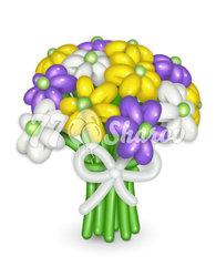 """Цветы из шаров """"Летнее настроение"""""""