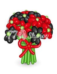"""Цветы из шаров """"Букет 8"""""""