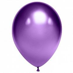 """Шар латекс """"Хром фиолетовый"""""""