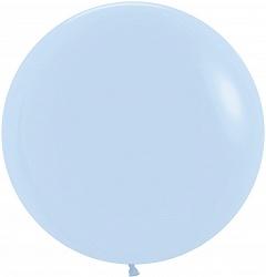 Большой шар 70 см, Бледно-голубой