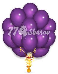 """Облако из шаров, Фиолетовые 14""""/36 см"""