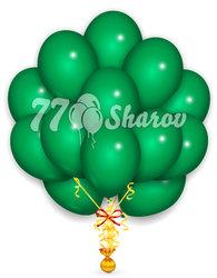 """Облако из шаров """"Зеленые"""",36 см"""