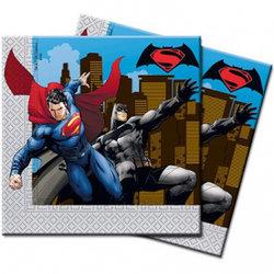 "Салфетки ""Супермен и Бэтмен"", 20 шт"