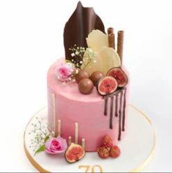 """Торт """"Инжирное наслаждение"""""""