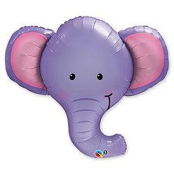 """Шар-фигура """"Слоненок голова"""""""