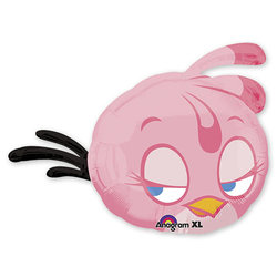 "Шар-фигура ""Angry Birds Розовая Птица"""