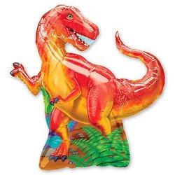 """Шар-фигура """"Динозавр красный"""""""