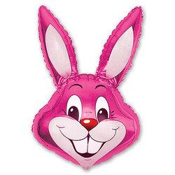 """Шар-фигура """"Кролик малиновый"""""""