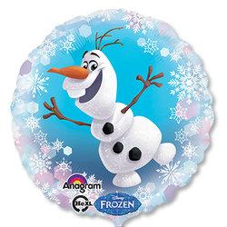 """Шар фольгированный 18"""" Frozen Олаф"""