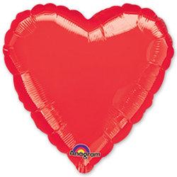 """Шар-сердце """"Красный"""" 46 см"""