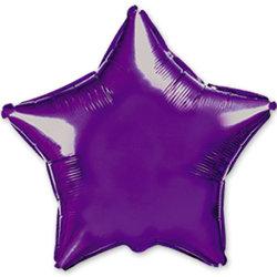 """Шар-звезда """"Фиолетовый"""" 46 см"""