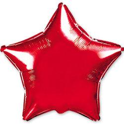 """Шар-звезда """"Красный"""" 46 см"""