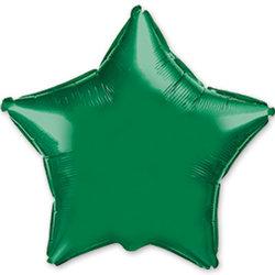 """Шар-звезда """"Зеленый"""" 46 см"""