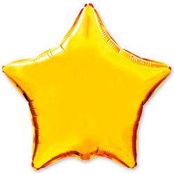 """Шар-звезда """"Золото"""" 46 см"""