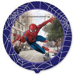"""Шар-круг """"Человек паук в городе"""" 18"""""""