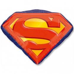 "Шар фольга ""Эмблема Супермен"""