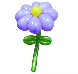 """Цветы из шариков """"Ромашка"""""""