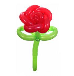 """Цветы из шариков """"Роза"""""""