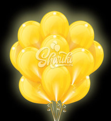 """Светящиеся шары """"Желтое Облако"""""""